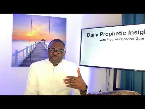 Prophetic Insight September 18,2021