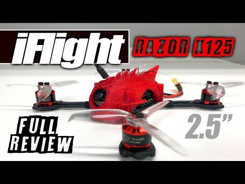 iFlight X125 Micro Brushless - Review, LOS Flight, FPV, Pros & Cons - UCwojJxGQ0SNeVV09mKlnonA