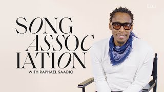 Raphael Saadiq Sings Stevie Wonder, Prince and Lionel Richie in a Game of Song Association | ELLE