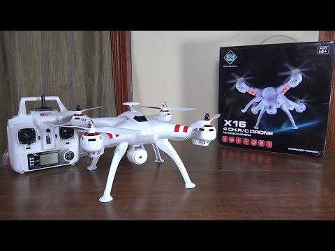Bayang Toys - X16 Typhoon (Brushless) - Review and Flight - UCe7miXM-dRJs9nqaJ_7-Qww
