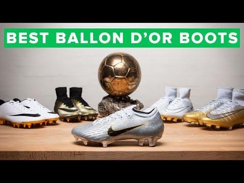 ALL THE BALLON d'Or BOOTS | Modric & Mbappé's new boots - UC5SQGzkWyQSW_fe-URgq7xw