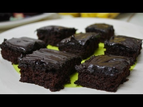 Chocolate Banana Brownies (Vegan! Gluten-free!)
