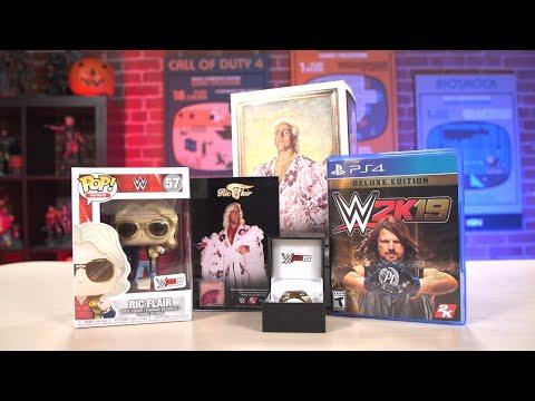 WWE 2K19 Wooooo! Collector's Edition Unboxing - UCKy1dAqELo0zrOtPkf0eTMw