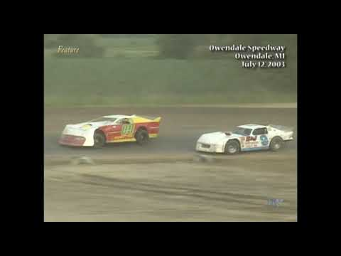 Full feature from the Limited Late Model division at the Silver Bullet Speedway July 12, 2003. Wade Witherspoon takes the win. - dirt track racing video image