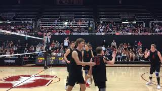 Jordan Ewert - Stanford Men's Volleyball - His Best Moments on Senior Night