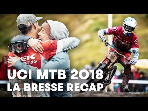 Full Recap of France's MTB Downhill Stop. | UCI MTB 2018 - UCXqlds5f7B2OOs9vQuevl4A