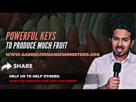 THREE POWERFUL THINGS THAT EVERY BELIEVER MUST DO TO BE VERY FRUITFUL IN LIFE, POWERFUL SERMON