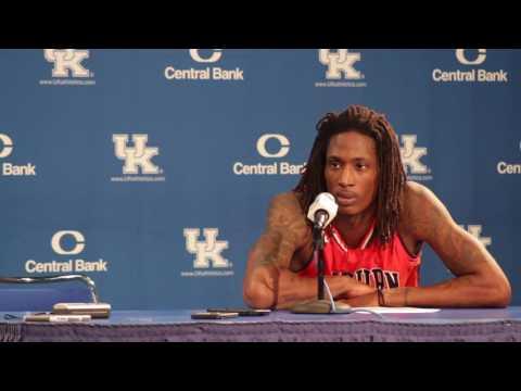 T.J Dunans talks about Auburn's loss to Kentucky, 92 to 72.