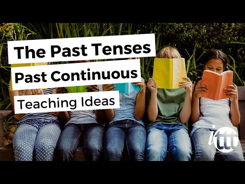 English Grammar - Past Continuous - Teaching Ideas 2 - TEFL