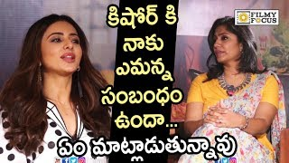 Rakul Preet Strong Punch to Anchor Jhansi for comparing her with Vennala Kishore | Manmadhudu 2