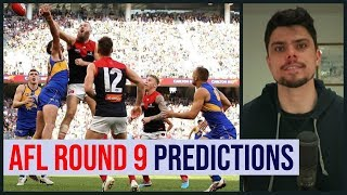 AFL Round 9 Predictions | 2019