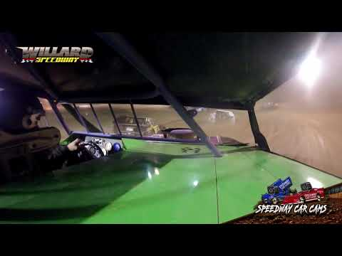 #19 Darren Slone - Sport Mod - 8-7-21 Willard Speedway - dirt track racing video image