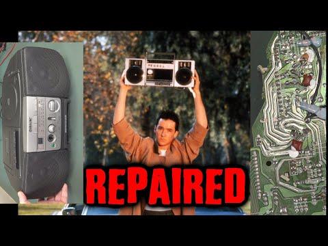 EEVblog #1243 - Sony Boombox REPAIR and Teardown - UC2DjFE7Xf11URZqWBigcVOQ