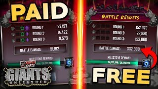 How to score HUGE points on GIANTS UNLEASHED for FREE!!   WWE SuperCard