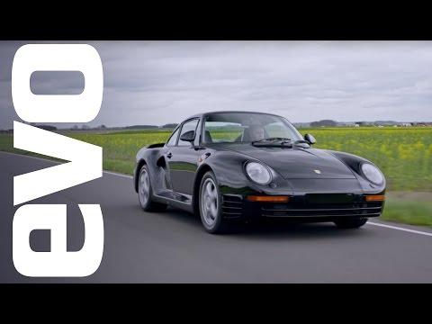 Porsche 959 driven | evo ICONS - UCFwzOXPZKE6aH3fAU0d2Cyg
