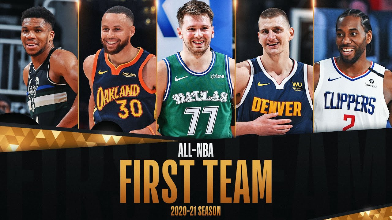 The Best Of The 2020-21 All-NBA First Team!