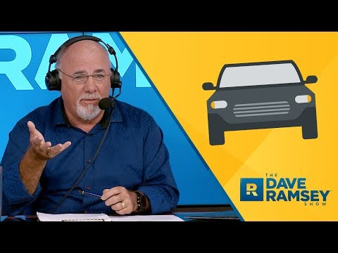 Broke? Look In The Driveway! - Dave Ramsey Rant