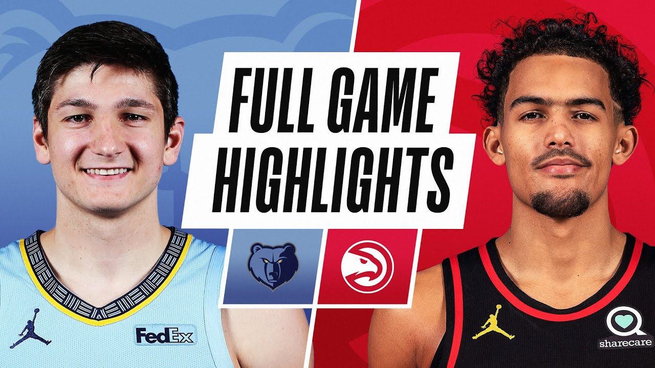 GRIZZLIES at HAWKS | FULL GAME HIGHLIGHTS | April 7, 2021