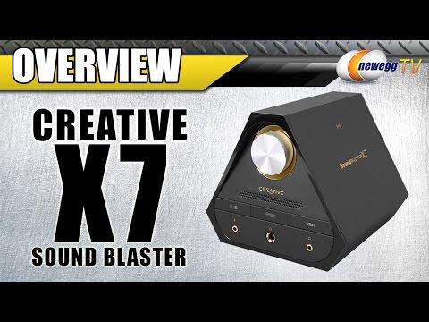 Creative X7 5.1 Channels 24-bit Sound Blaster Overview - Newegg TV - UCJ1rSlahM7TYWGxEscL0g7Q