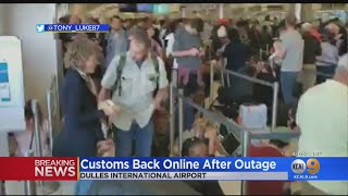 US Customs Computer Outage Causes Delays At LAX, Airports Nationwide