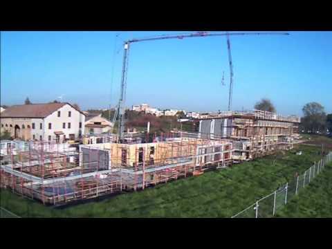 Il complesso LE PIUME D'ORO - video storia della costruzione