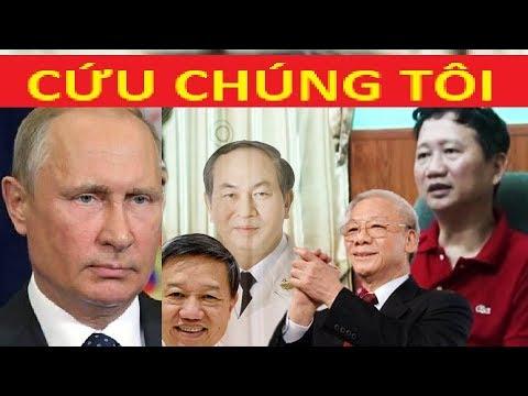 Nguyễn Phú Trọng đi Nga  cầu cứu Pu tin vụ giúp gỡ vụ bắt cóc TXT ?