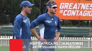 South Africa Will Always Miss AB De Villiers - David Miller