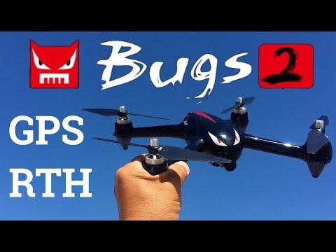 MJX B2W Bugs 2 WiFi FPV Brushless With 1080P HD Camera GPS RC Quadcopter RTF - UC9l2p3EeqAQxO0e-NaZPCpA