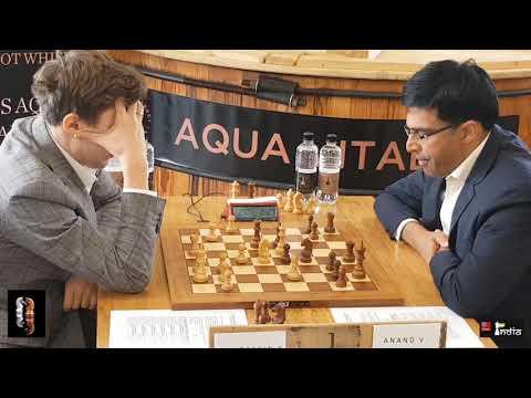 Sergey Karjakin vs Vishy Anand, Lindores Abbey Chess 2019