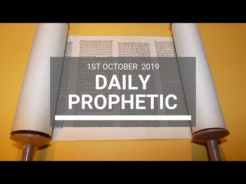 Daily Prophetic 1st October 2019   Word 4