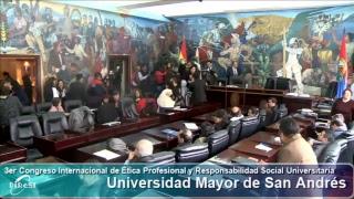 3er Congreso Internacional de Ética Profesional y Responsabilidad Social Universitaria