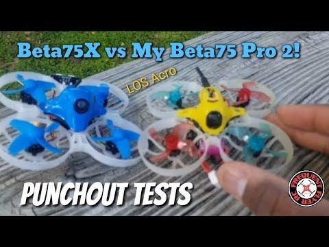 Beta75X vs Beta75 Pro - LOS Acro Punchout Test/Comparison - UCNUx9bQyEI0k6CQpo4TaNAw