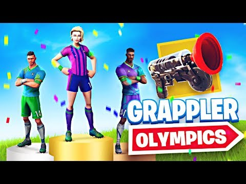 GRAPPLER OLYMPICS!! New Fortnite Custom Game Mode - UC2wKfjlioOCLP4xQMOWNcgg