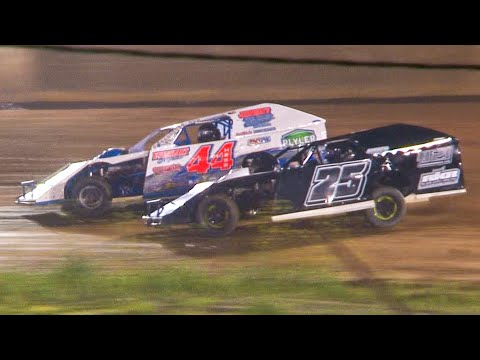 UMP Modified Feature | Eriez Speedway | 7-18-21 - dirt track racing video image