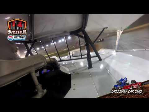 #5 Luke Ruark - 604 Late Model - Carolina Sizzler 7-18-21 - In-Car Camera - dirt track racing video image