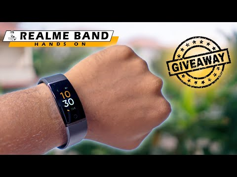 3 WINNERS: Realme Band Fitness Tracker Giveaway Image