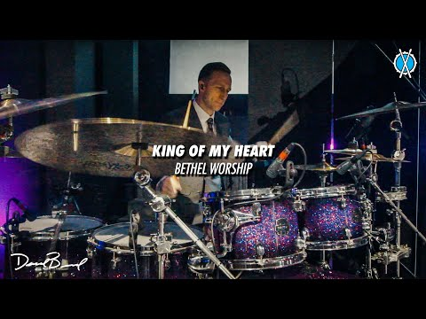 King of My Heart Drum Cover // Bethel Music // Daniel Bernard