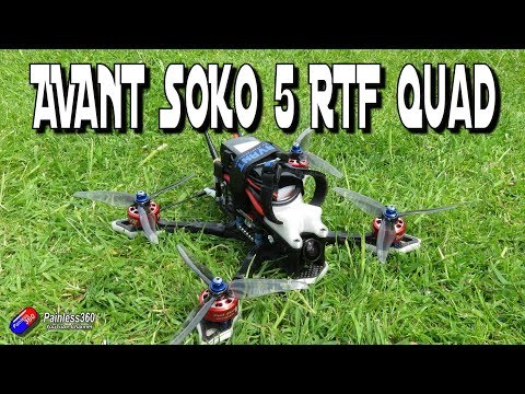 AVANT Soko 5 RTF Quadcopter: A beautiful flyer - UCp1vASX-fg959vRc1xowqpw