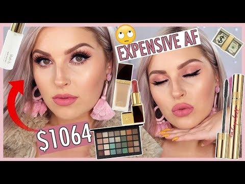 Full Face of MY MOST EXPENSIVE MAKEUP! 💸💸 Luxury & High End - UCMpOz2KEfkSdd5JeIJh_fxw