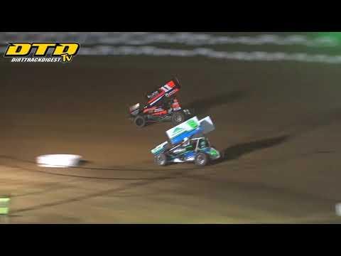 Big Diamond Speedway | 410 Sprint Car Highlights | 8/13/21 - dirt track racing video image