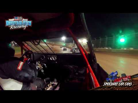 #911 Angel Jolley - FWD - 9-11-21 Mountain View Raceway - In-Car Camera - dirt track racing video image