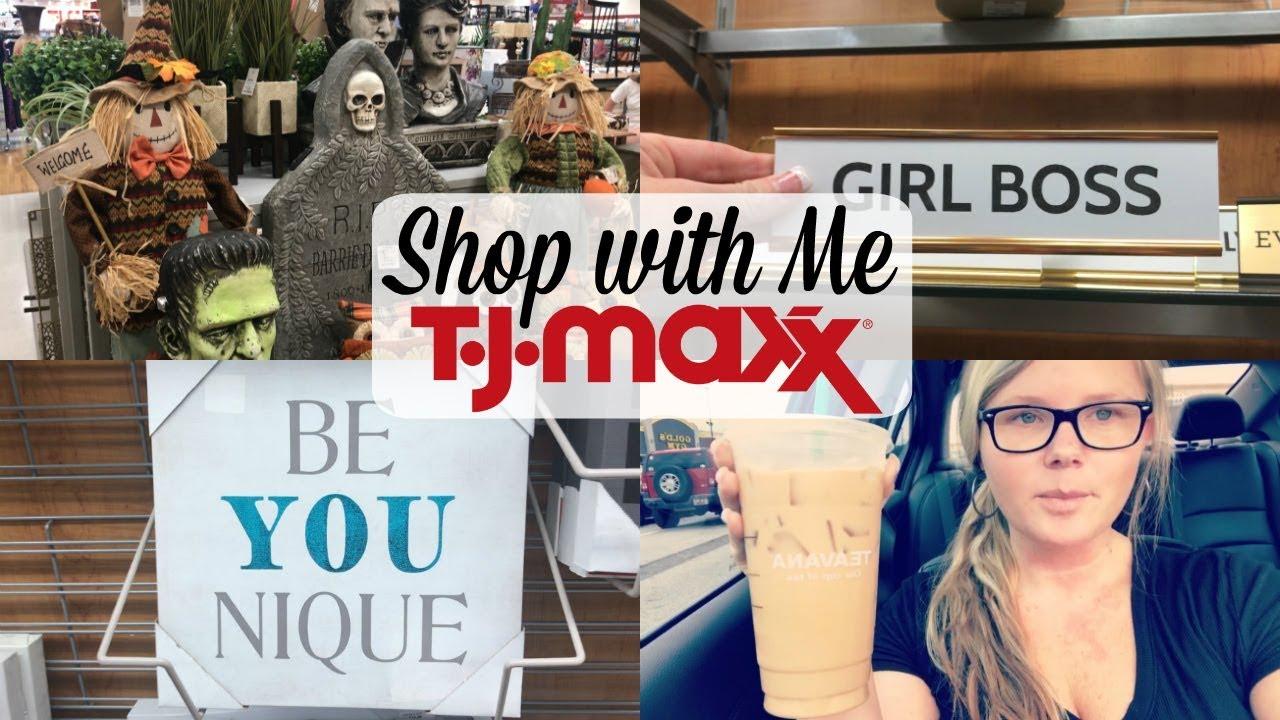 SHOP WITH ME AT TJMAXX & MINI HOME DECOR HAUL