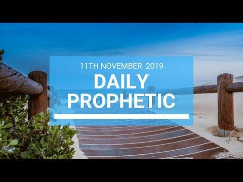 Daily Prophetic 11  November Word 1
