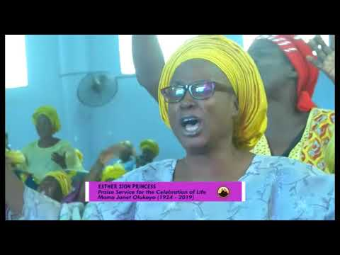 Late Ma Janet Olukoya Special Praise Service Esther Zion Princess