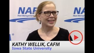 What's Exciting About Fleet? Everything.   KATHY WELLIK, CAFM   Fleet Management Weekly