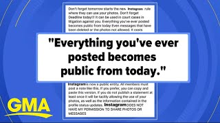 Celebrities, politicians and more fall for Instagram hoax | GMA