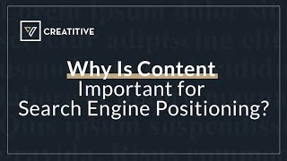 Why Content Is An Important Part Of Your SEO Strategy