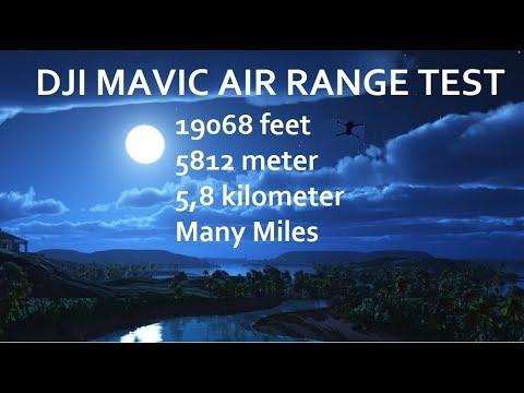 DJI Mavic Air Range Test 19068 FEET 5812 meter 5,8 kilometer (EUROPE) - UCTPJRzvzIfK3fps3pN_vZIg
