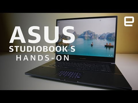 Asus StudioBook S Hands-On: A Laptop for Creators at CES 2019 - UC-6OW5aJYBFM33zXQlBKPNA