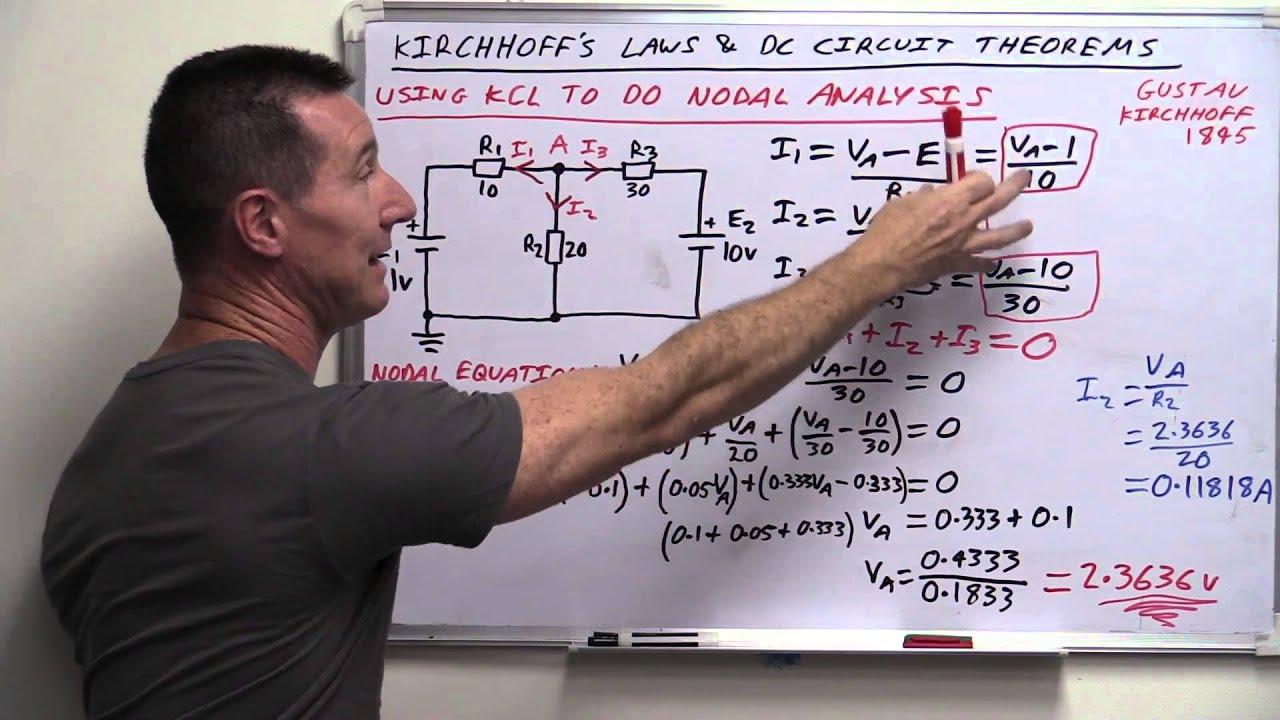 Eevblog 820 Mesh Nodal Circuit Analysis Tutorial Circuits